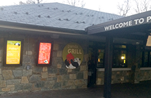 Restaurant industry Touch Vertical and Portrait Outdoor Digital Signage Solution
