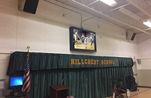 Gyms and Schools Outdoor Digital Signage and TV Solution