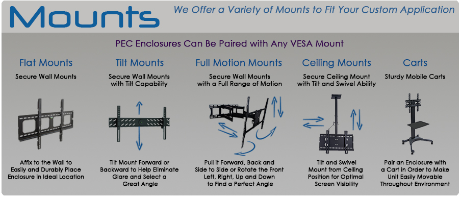 Mounts for Outdoor TV Solutions