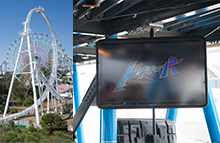 Theme Parks Outdoor Digital Signage Enclosures