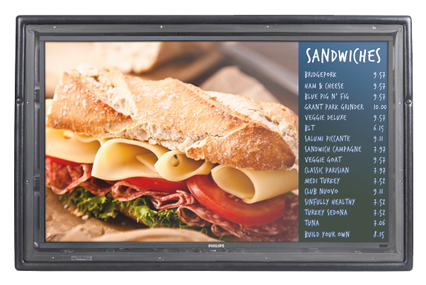 The Display Shield Outdoor Environmental digital display protection anti-glare