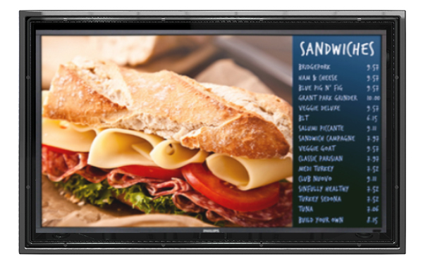The Display Shield anti glare outdoor digital monitor solution for advertising