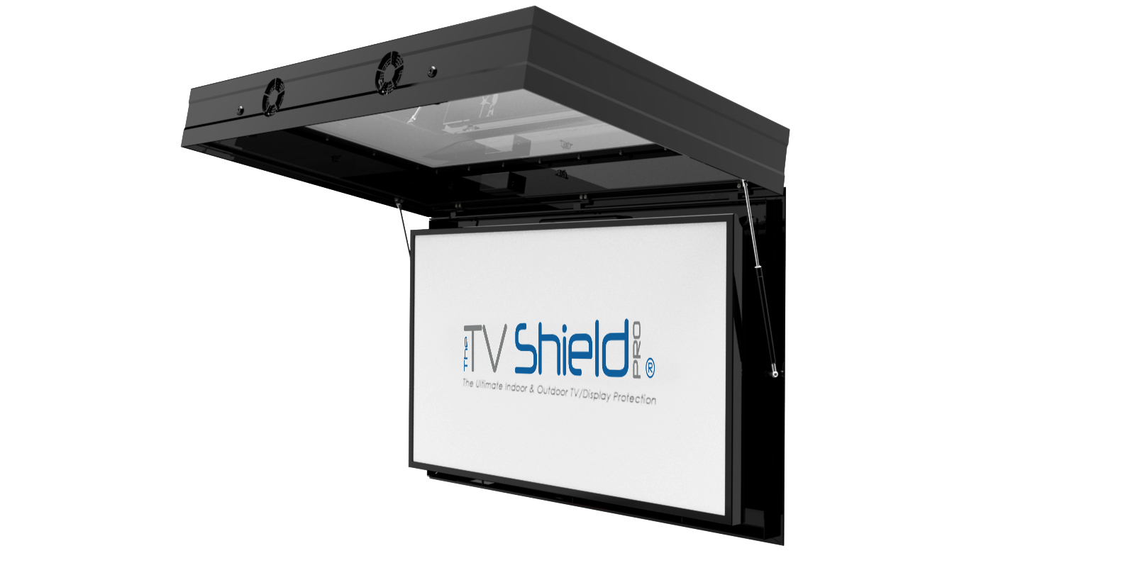 outdoor touch screen tv enclosures