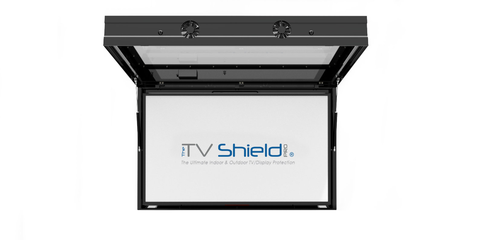 outdoor weatherproof tv box with touch screen option