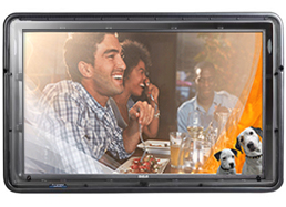 The TV Shield outdoor tv kit for patios, porches or any outdoor living environment