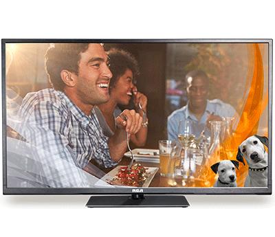 RCA 55″ TV Commercial Value LED HDTV