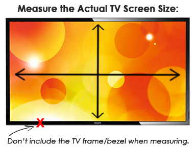 Indoor Touch Screen TV Size Guide